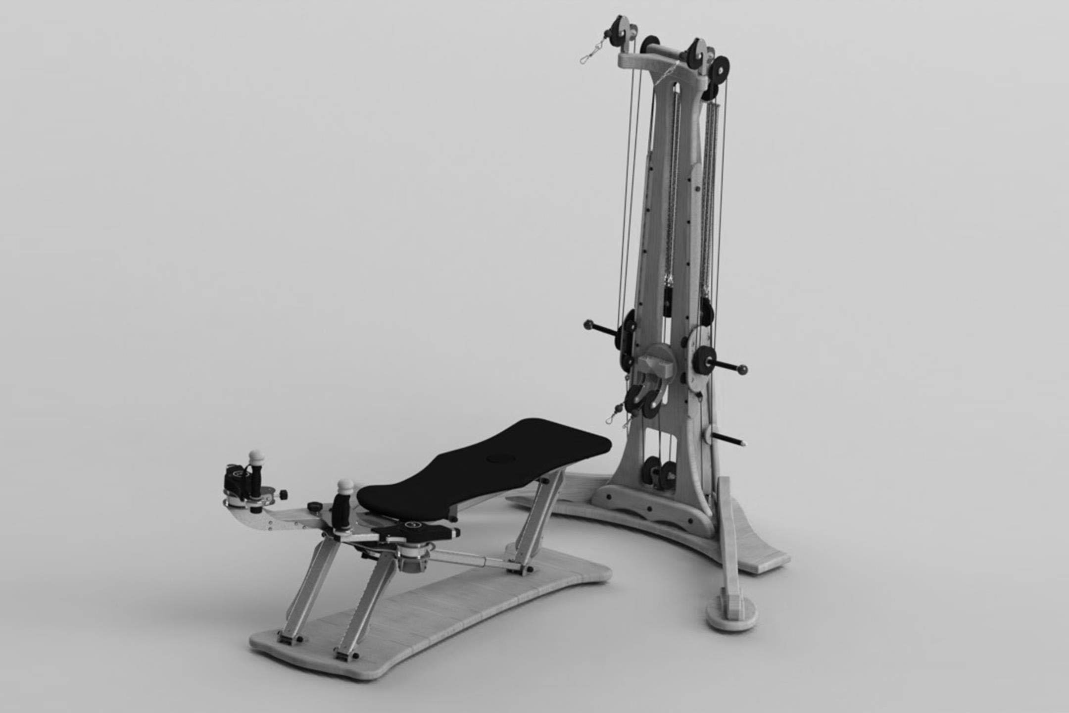 Gyrotonic equipment